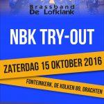 NBK Try-out 15 oktober te Drachten