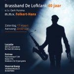Jubileumconcert m.m.v. Folkert-Hans