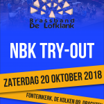 Informatie try-out 20 oktober!