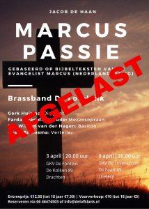 AFGELAST Marcus Passie